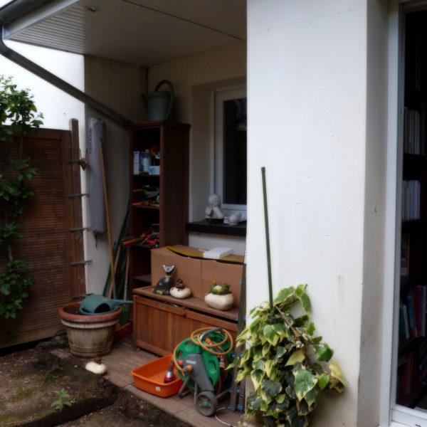 Avant (before) - Le jardin… une pièce à part entière de la maison - Vert Iris