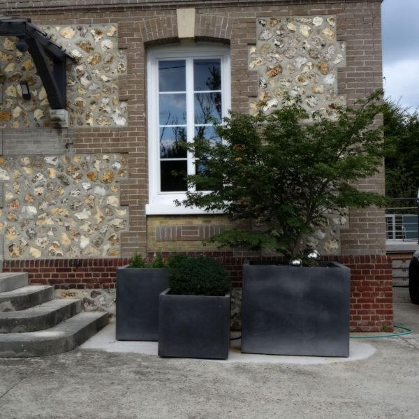 Après (after) – Une touche contemporaine - Le charme de la pierre et du design - Vert Iris